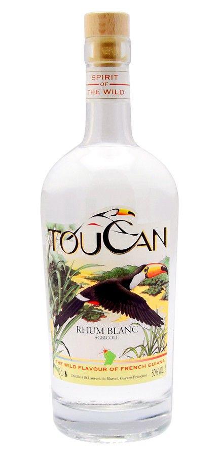 Rhum Toucan. Rhum blanc idéal pour le ti-punch